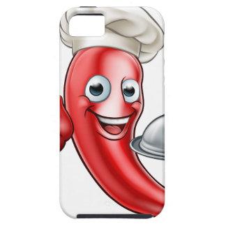 Capa Tough Para iPhone 5 Cozinheiro chefe da pimenta dos desenhos animados