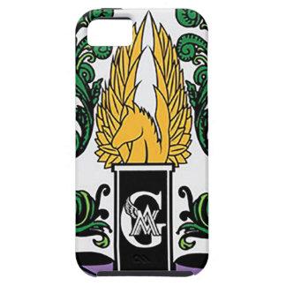 Capa Tough Para iPhone 5 Crista média dos guardiães de Not'Cho