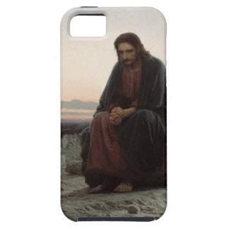 Capa Tough Para iPhone 5 Cristo de Ivan Kramskoy- nas belas artes da região