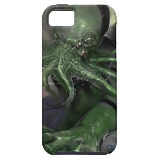 Capa Tough Para iPhone 5 Cthulhu cavalo-força de aumentação Lovecraft