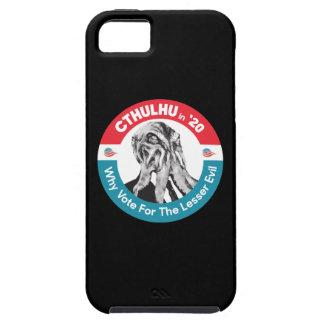 Capa Tough Para iPhone 5 Cthulhu para o presidente 'em 20