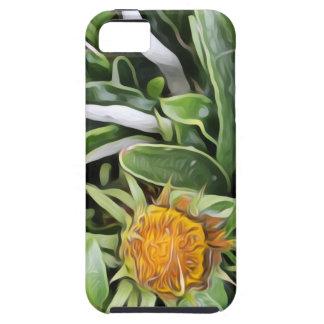 Capa Tough Para iPhone 5 Dente-de-leão um la Van Gogh
