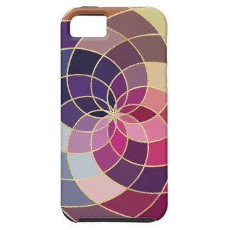 Capa Tough Para iPhone 5 Design abstrato colorido surpreendente