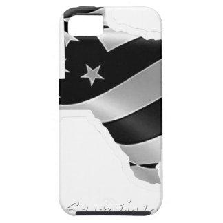 Capa Tough Para iPhone 5 Design txt.gif branco de Harvey