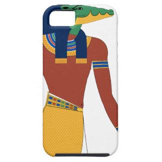 Capa Tough Para iPhone 5 Deus do crocodilo de Sobek