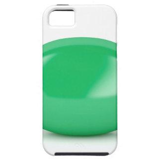 Capa Tough Para iPhone 5 Doces duros envolvidos verde