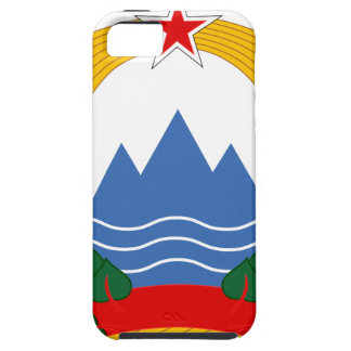 Capa Tough Para iPhone 5 Emblema da república socialista de Slovenia