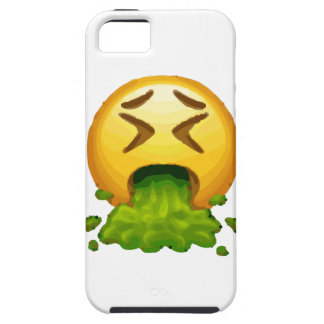 Capa Tough Para iPhone 5 emoji que puking