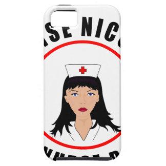 Capa Tough Para iPhone 5 Enfermeira de Nicole