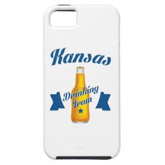 Capa Tough Para iPhone 5 Equipe do bebendo de Kansas
