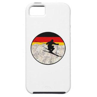 Capa Tough Para iPhone 5 Esqui Alemanha
