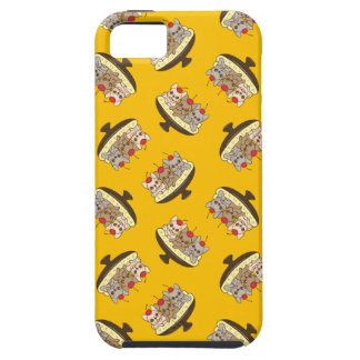 Capa Tough Para iPhone 5 Estes Frenchies querem ser sua separação de banana