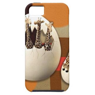 Capa Tough Para iPhone 5 Estilo do savana