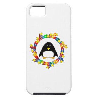 Capa Tough Para iPhone 5 Estrelas do pinguim