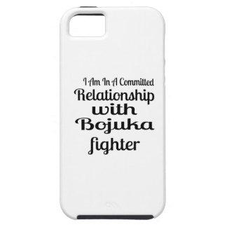 Capa Tough Para iPhone 5 Eu estou em uma relação cometida com luta de