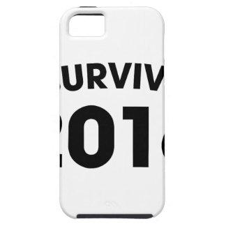 Capa Tough Para iPhone 5 Eu sobrevivi a 2016