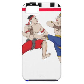 Capa Tough Para iPhone 5 Excedente tailandês de Muay tudo