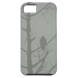 Capa Tough Para iPhone 5 Falcão na névoa