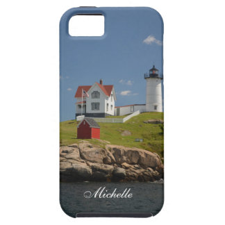 Capa Tough Para iPhone 5 Farol de Neddick do cabo
