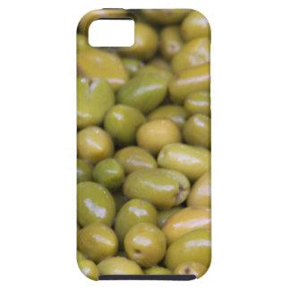 Capa Tough Para iPhone 5 Feche acima das azeitonas verdes