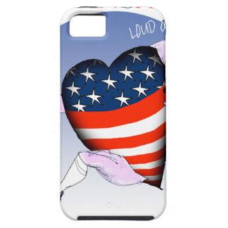 Capa Tough Para iPhone 5 fernandes tony altos e orgulhosos de kansas,