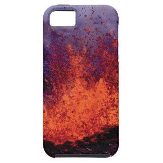 Capa Tough Para iPhone 5 fissura da rachadura da lava