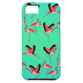 Capa Tough Para iPhone 5 Flamingo selecção z
