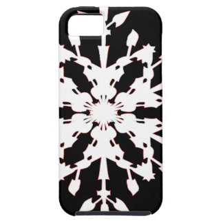 Capa Tough Para iPhone 5 Floco de neve