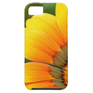 Capa Tough Para iPhone 5 Flor amarela