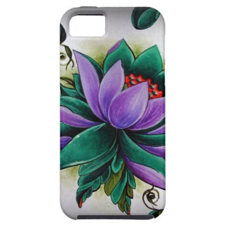 Capa Tough Para iPhone 5 flor de lótus