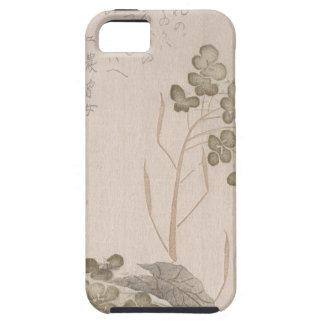 Capa Tough Para iPhone 5 Flor de Natane - origem japonesa - período de Edo