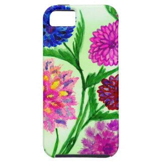 Capa Tough Para iPhone 5 Flores coloridas 4
