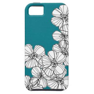 Capa Tough Para iPhone 5 Flores de Hawiian