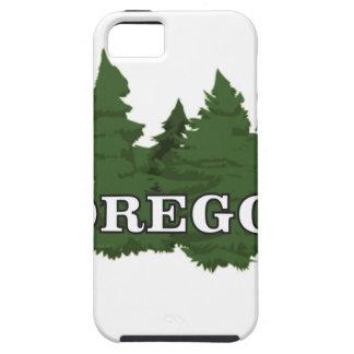 Capa Tough Para iPhone 5 Floresta de Oregon