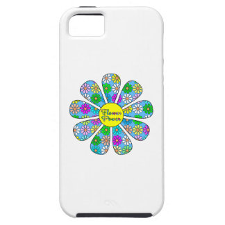 Capa Tough Para iPhone 5 Flower power feliz