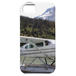 Capa Tough Para iPhone 5 Flutue plano, lago trail, Alaska 3