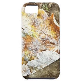 Capa Tough Para iPhone 5 Folha gelado