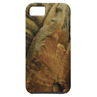 Capa Tough Para iPhone 5 forma e formulário da rocha