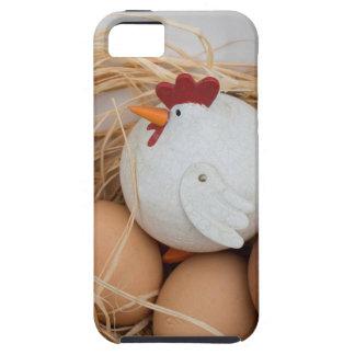 Capa Tough Para iPhone 5 Galinha & ovos