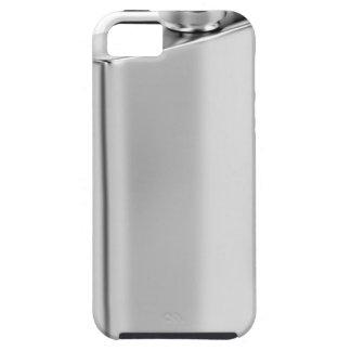 Capa Tough Para iPhone 5 Garrafa anca de prata