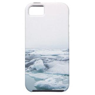 Capa Tough Para iPhone 5 Geleiras de Islândia - branco