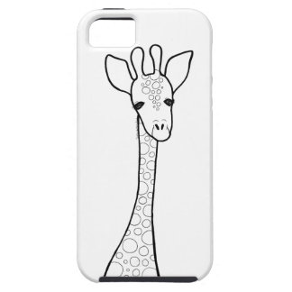 Capa Tough Para iPhone 5 Girafa simples