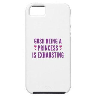 Capa Tough Para iPhone 5 Gosh princesa