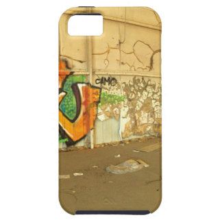 Capa Tough Para iPhone 5 Grafites abandonados