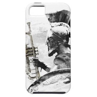 Capa Tough Para iPhone 5 Guerreiro da trombeta