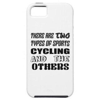 Capa Tough Para iPhone 5 Há dois tipos de ciclagem e de outro dos esportes