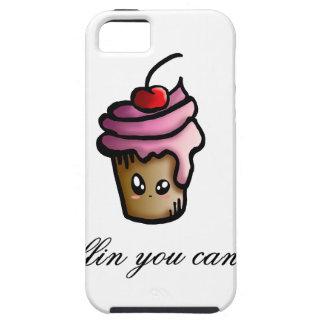 Capa Tough Para iPhone 5 Há muffin que você pode fazer sobre ele