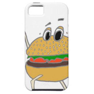 Capa Tough Para iPhone 5 hamburguer running