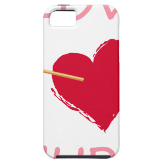Capa Tough Para iPhone 5 hearts6