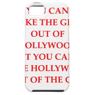 CAPA TOUGH PARA iPhone 5 HOLLYWOOD